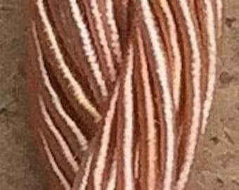 Viscose Gimp Thread,  Hand Dyed Gimp, Viscose Gimp, Flesh, 10 metres,