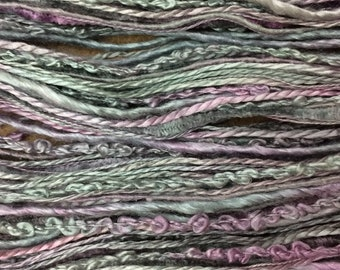 Lavenders and Old Lace, Hand Dyed Mulberry Silk Thread Selection, Silk One Off, Creative Embroidery Thread, Canvaswork, Needlepoint,