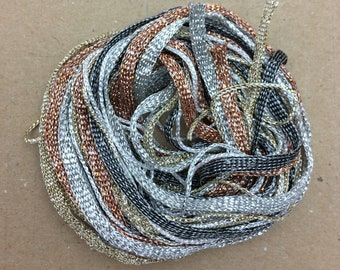 Tidbits, Christmas Special, Metallics, Hand Dyed Embroidery Threads, Creative Embrodery
