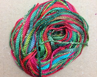 Tidbits, Christmas Special, Hand Dyed Embroidery Threads, Creative Embrodery