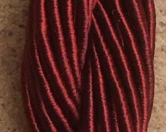Viscose Gimp Thread,  Hand Dyed Gimp, Viscose Gimp, Dark Tan, 10 metres,