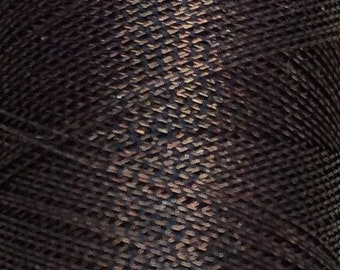 Metallic Thread, Luxury Spaced Gimp, Bronze, 150m (164yards)