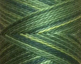 No.10 Cedar, Hand Dyed Silk Machine Thread, Individual Spool 120m, Machine Embroidery, Machine Quilting