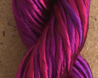 Thick Rayon Floss, No.05 Violet, Viscose Floss, 9 Strand Viscose Floss, Embroidery Thread, Braidmaking, Kumihimo
