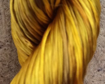 Rayon Floss, No.07 Yellow Ochre, Viscose Floss, 4 Strand Viscose Floss, Embroidery Thread, Braidmaking, Kumihimo