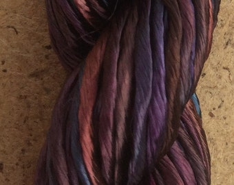 Thick Rayon Floss, No.19 Black Cherry, Viscose Floss, 9 Strand Viscose Floss, Embroidery Thread, Braidmaking, Kumihimo