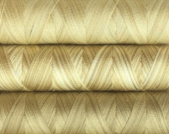 Eco Dyed Collection, Hand Dyed Silk Machine Threads, Connoisseur Pack, Luxury Machine Thread, Set  of 6x 100m (110yds)