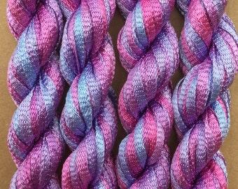 Hand Dyed Viscose Ribbon, 10/167 Viscose Ribbon, Rayon Ribbon, Embroidery, Thread, Canvaswork, Needlepoint, Colour No.29 Stocks