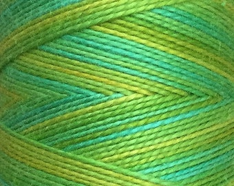 OVER THE TOP, No.45 Spring Green, Thicker Cotton Machine Quilting Thread, Machine Embroidery Thread , Eygyptian Cotton