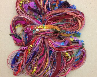 Destash Packs, Fantasia, Mixed Thread Selections, Limited Edition, Hand Dyed and Speciality Threads, 20m (22 yards)
