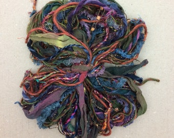 Destash Packs, Earth, Mixed Thread Selections, Limited Edition, Hand Dyed and Speciality Threads, 20m (22 yards)