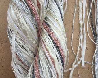 Super One Off, Large Thread Selection, Threads for Dyeing, Undyed Thread Mix, Creative Embellishment Yarn, Textile Art