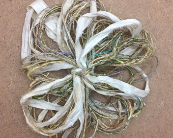 Destash Packs, Straw Bale, Mixed Thread Selections, Limited Edition, Hand Dyed and Speciality Threads, 20m (22 yards)