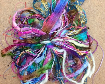 Destash Packs, Carnival, Mixed Thread Selections, Limited Edition, Hand Dyed and Speciality Threads, 20m (22 yards)