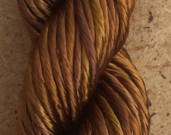 Thick Rayon Floss, Colour Toffee, Viscose Floss, 9 Strand Viscose Floss, Embroidery Thread, Braidmaking, Kumihimo