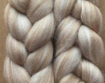 Merino Wool and Baby Camel Roving, Wool Fibre, Spinning Fibre, UK Seller