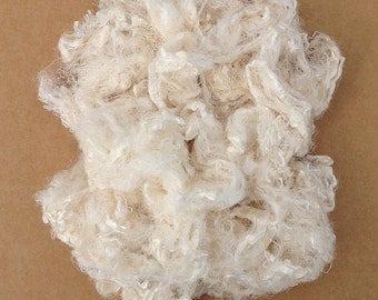 Silk Throwsters Waste,   Natural Mulberry Silk Filament Waste,  Silk Waste Fibre,  Textured Silk Waste