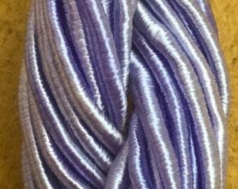 Viscose Gimp Thread,  Hand Dyed Gimp, Viscose Gimp, Lavender, 10 metres,