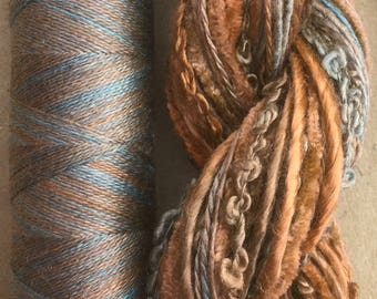 Silk Harmony, Embroidery Thread Selection and Silk Machine Thread, Embroidery Threads, Quilting Thread,  No.21 - Rust