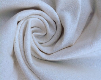 Silk Noil, Undyed Silk Bourette, Natural Textured Silk, Silk Fabric, Neutral Fabric, Undyed Fabric, Silk Washcloth Fabric,0.5metre
