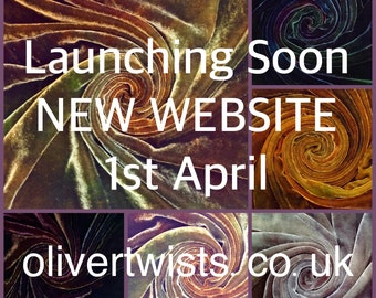 NEW WEBSITE launch on 1st April, 10% introductory discount for the month of April