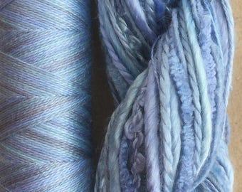 Silk Harmony, Embroidery Thread Selection and Silk Machine Thread, Embroidery Threads, Quilting Thread,  No.38 Hydrangea