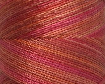 No.13 Sunset, Hand Dyed Cotton Machine Thread, Individual Spool 150m, Machine Embroidery, machine Quilting
