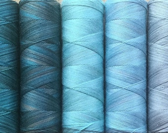 Eco-Colour Machine Cottons, Hand Dyed Egyptian Cotton Machine Thread