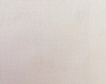 28 Count Evenweave Cotton, Zweigart, Antique White