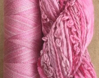 Silk Harmony, Embroidery Thread Selection and Silk Machine Thread, Embroidery Threads, Quilting Thread,  No.31 Raspberry Sorbet