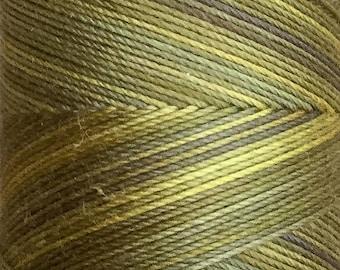No.46 Hosta, Hand Dyed Cotton Machine Thread, Individual Spool 150m, Machine Embroidery, machine Quilting
