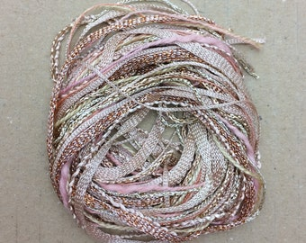 Tidbits, Skintone, Hand Dyed Embroidery Threads, Creative Embrodery