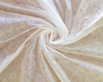 Abaca Tissue, Undyed Fibre Tissue, Lens Tissue, Tissutex, Conservation Tissue, Acid Free Tissue, 9gsm, Ivory Colour
