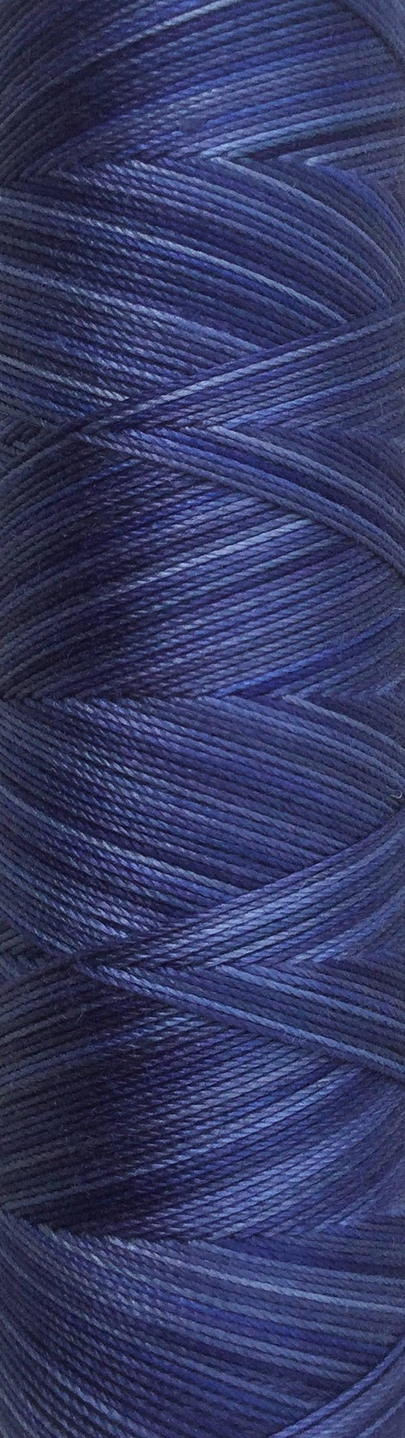 No.52 Ultramarine Hand Dyed Cotton Machine Thread Individual image 0