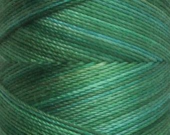 No.55 Holly, Hand Dyed Cotton Machine Thread, Individual Spool 150m, Machine Embroidery, machine Quilting