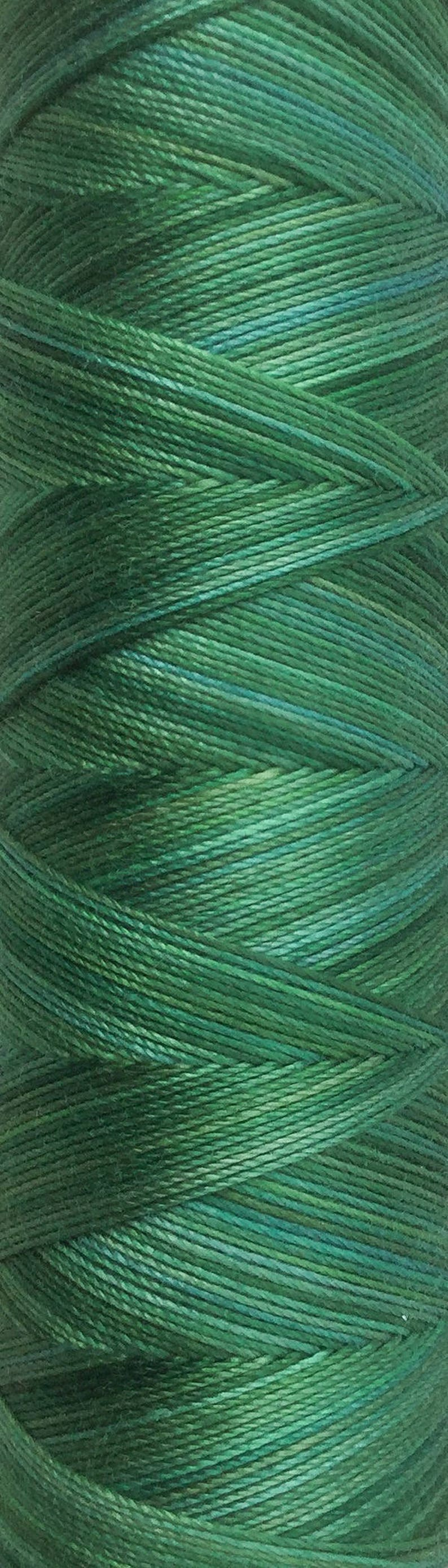 No.55 Holly Hand Dyed Cotton Machine Thread Individual Spool image 0