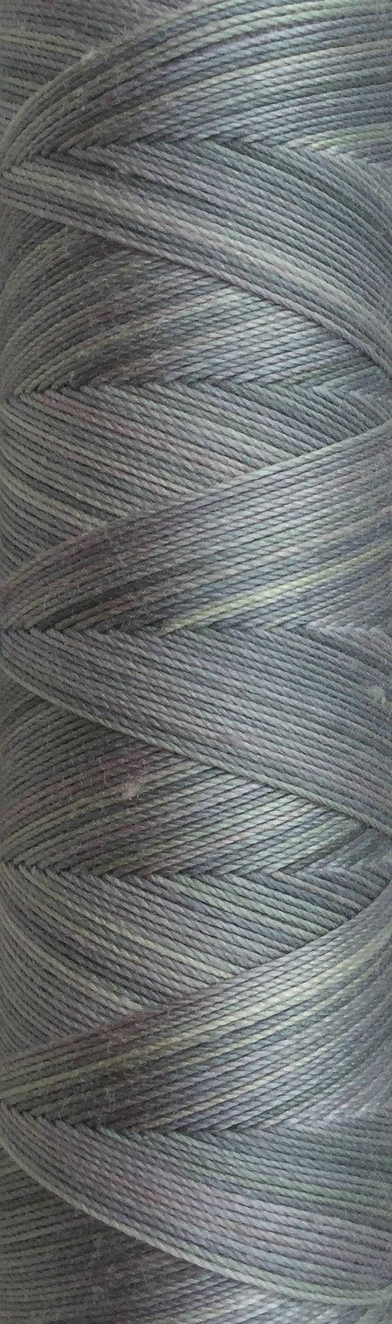 No.56 Pebble Hand Dyed Cotton Machine Thread Individual image 0
