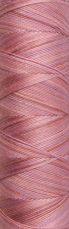 No.43 Peach Hand Dyed Cotton Machine Thread Individual Spool image 0