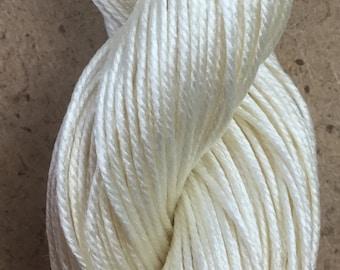 Silk Como, Mulberry Silk Yarn, Ivory Silk