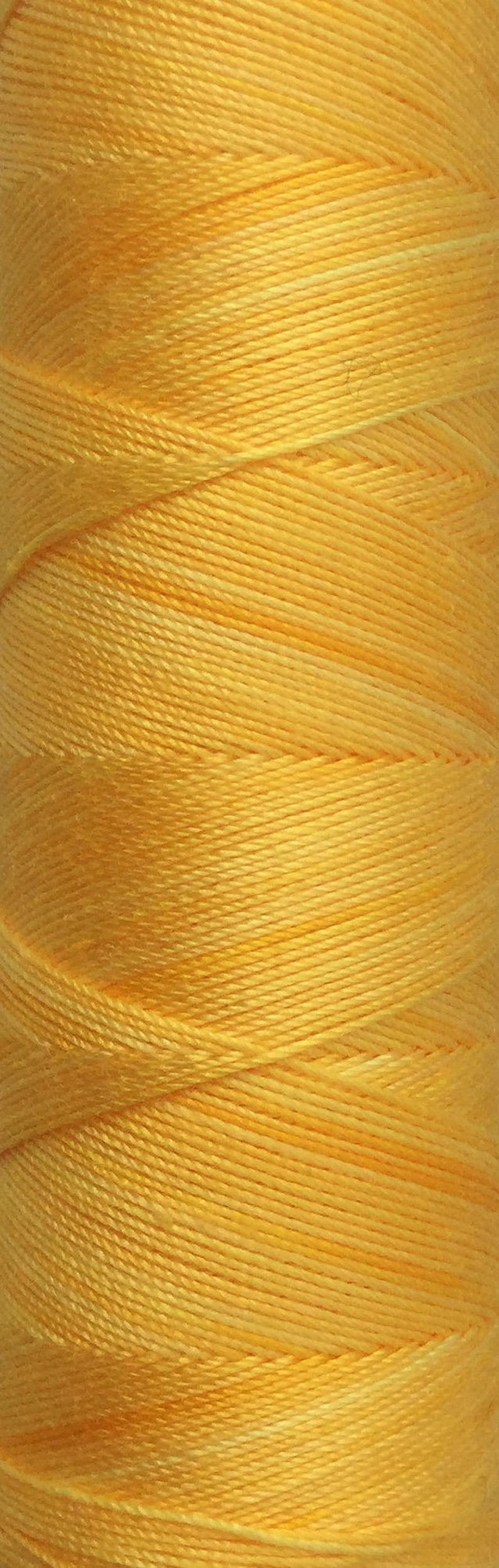 No.51 Daffodil Hand Dyed Cotton Machine Thread Individual image 0