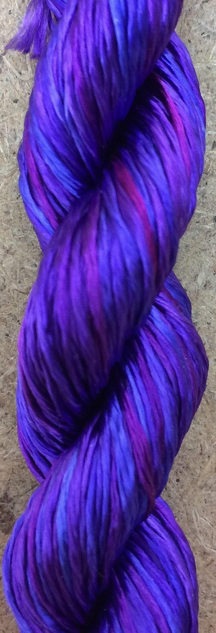 Rayon Floss, No 05 Violet, Viscose Floss, 4 Strand Viscose