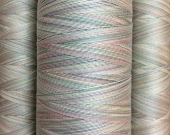No.22 Silver Birch, Hand Dyed Cotton Machine Quilting Thread, 150m (162yds) or 750m (820yds) Eygyptian Giza Cotton 40wt