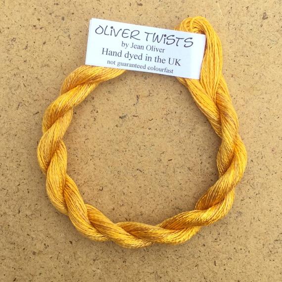 Textile Art Embroidery Thread Silk Filament Embroidery Thread Artisan Thread Undyed