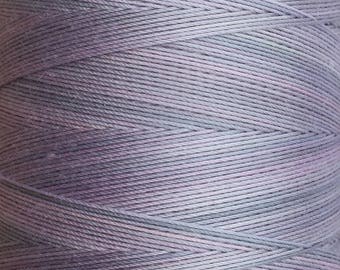 Hand Dyed Cotton Machine Quilting Thread, Machine Embroidery Thread,  Eygyptian Cotton 40wt. 750m (820yds) No.56 Pebble