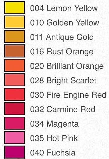 22012613 Jacquard Procion MX dyes, 19g pots, 42 colours available
