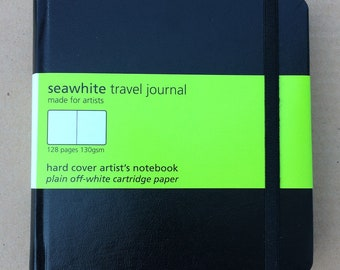 Sketchbook, Seawhite Travel Journal, Casebound, 140mm square