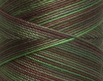 No.54 Moss, Hand Dyed Cotton Machine Thread, Individual Spool 150m, Machine Embroidery, machine Quilting