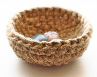 Tiny Crochet Bowl - Crochet Pattern   PDF Instructions