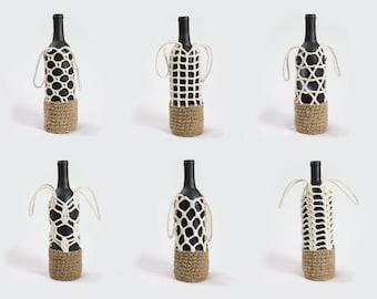 Bottle Carrier Crochet Pattern Collection