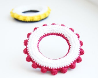 Tactile Baby Toy Crochet Pattern